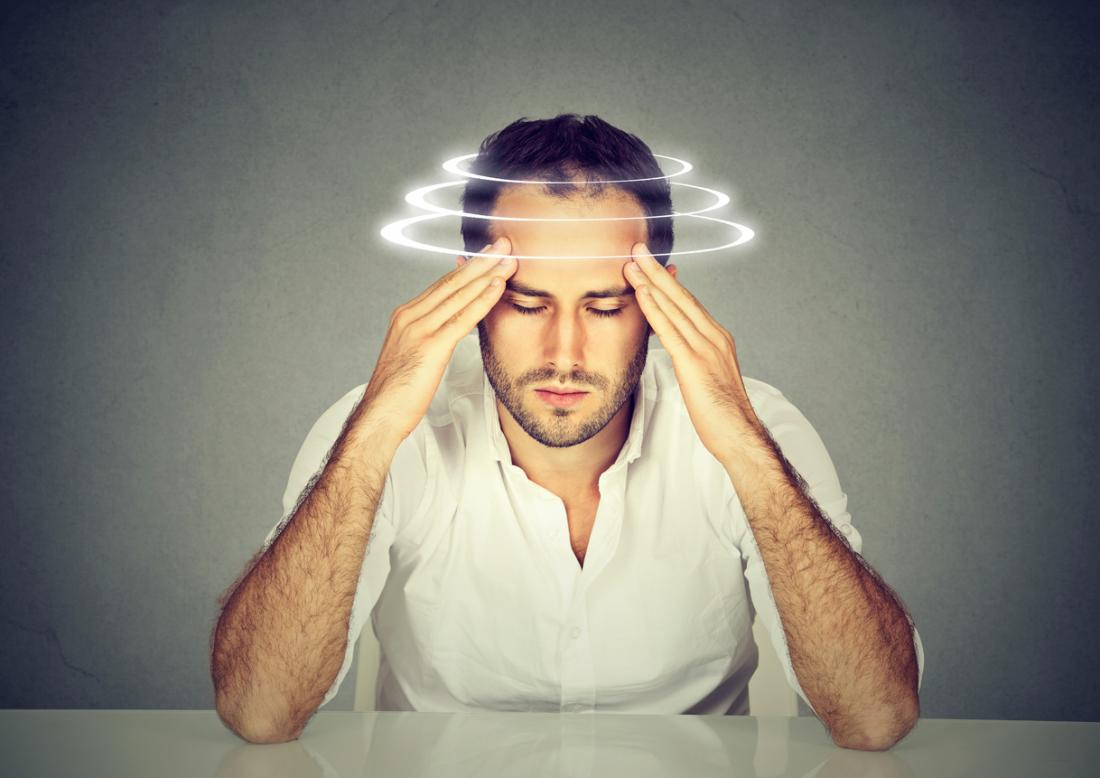 can eye strain cause dizziness
