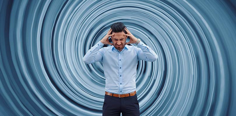 eye strain vertigo symptoms